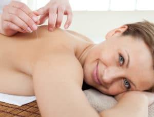 woman massage Portrait
